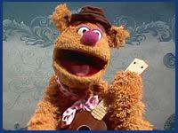Fozzie Bear from matthewbarr.co.uk/muppets