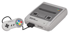 The now 20 year old Super Nintendo, or Super Famicom