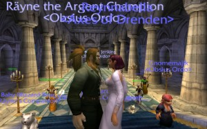 A World of Warcraft wedding