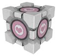 Portal 2 Companion Cube