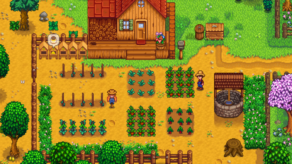 The routine in Stardew Valley helped fill in where my personal routine was gone